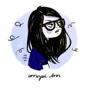 annoyed ann